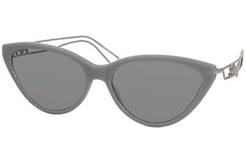 Balenciaga Gafas de sol Gafas de sol BB0052S 004 Mujer color Gris lente gris talla 56 mm