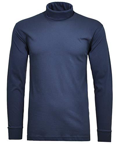 RAGMAN Rollkragen Pullover Baumwoll-Jersey XL, Nachtblau-079