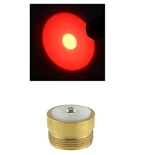 WINDFIRE RED CREE Q5 LED 350 Lumens 1-Mode Module for HS-802 WF-802 Tactical Flashlight RED Hunting Light RED Cree LED Coyote Hog Hunting Light Lamp Torch