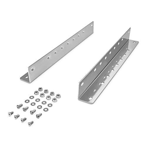 Junker 1 Paar Montagewinkel KW1-100-H53-L542 Länge 542 mm für Plattform- u. Bodenmontage der Vollauszüge KV1-80-H53 und KV1-100-H53