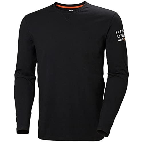 Helly-Hansen Men s Workwear Kensington Longsleeve Shirt, Black - Medium