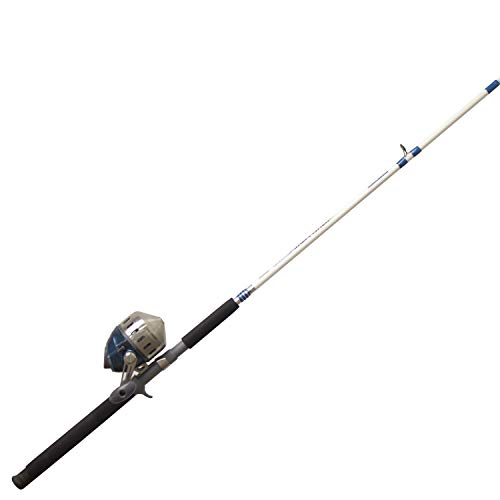 Zebco 808HSF702MH, 20, NS3 Zebco 808 Series Spincast Combo, Saltfisher, 7' Length 2Piece, Medium Action