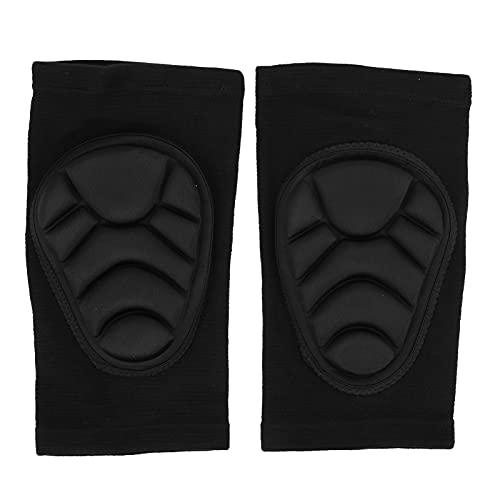Shanrya Rodilleras Protectoras, convenientes para Usar, Rodilleras de Mano de Obra Fina, seguras de Usar para Actividades para Amigos al Aire Libre