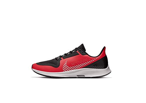 Nike Men's Air Zoom Pegasus 36 Shield Running Shoes (12, Red/Black)