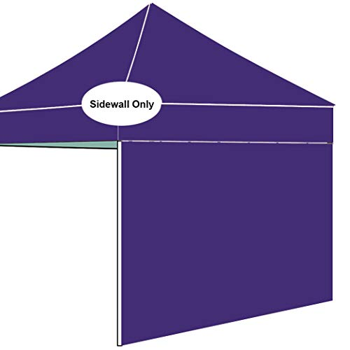 AMERICAN PHOENIX Side Walls for 10'x10' 10'x15' 10'x20' Straight Leg Pop Up Tent Canopy SunWalls Only 1 Pack Sunshade Sidewalls (for 5'x5', Purple)