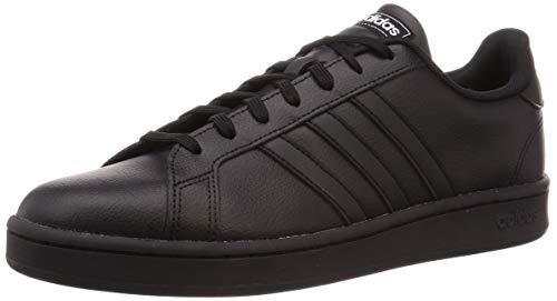 Adidas Grand Court, Zapatos de Tenis Hombre, Núcleo Negro/Núcleo Negro/Blanco FTWR, 40 EU