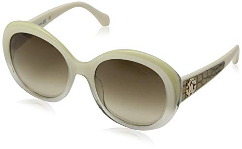 Roberto Cavalli Tejat RC983S C56 Gafas de sol, Beige, 56.0 para Mujer