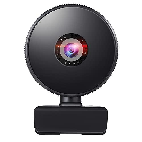 FEILINKA Autofocus Webcam Full High Definition 1080P Cámara Web USB 2.0 Webcam con micrófono incorporado para grabación Conferenc