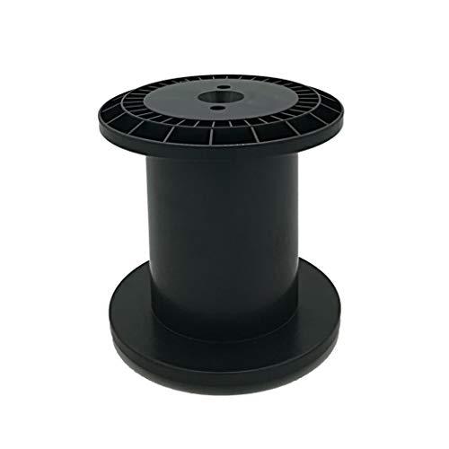 Kunststoffspule, 4 Stück Leerspule, Einwegspule für das aufwickeln verschiedener Materialien E125 mit zylindrischem Kern, Spule