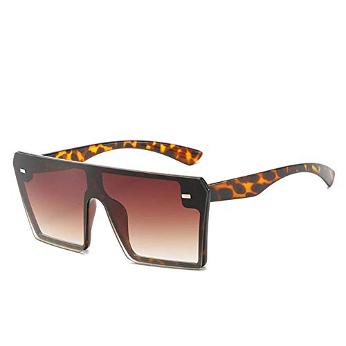 WJTHH Gafas de sol clásicas con protección UV, polarizadas, estilo retro, para hombres y mujeres, gafas de sol rectangulares de gran tamaño, viajes, Eyewear ShadMirror Tee.