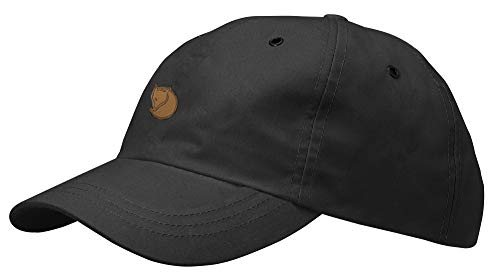 Fjällräven Erwachsene Kappe Helags Cap, Dark Grey, L-XL