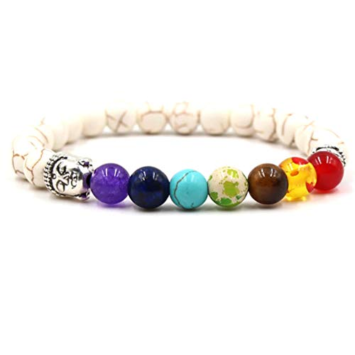 LoveAloe Healing Balance Yoga Bracelet Anklets Reiki Buddha Charms Accessories Beads Bangles,Style 1