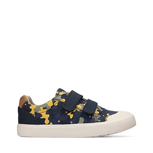 Clarks Zapatillas Para Niño Azul Azul, Color Azul, Talla 30 EU