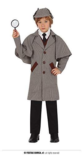 FIESTAS GUIRCA Disfraz de Detective para niño de 7 a 9 años