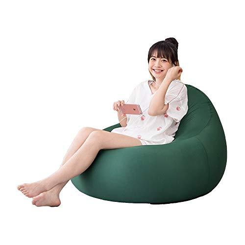 Axdwfd Zero Zwaartekrachtstoel, opklapbare ligstoel, luie bank bonentas Tatami net rood enkele verhuur kleine schattige stoel creatieve Japanse slaapkamer bonentas stoel 90x60x35cm