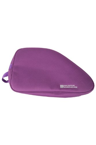 Mountain Warehouse Plain Bootbag - Water Resistant Shoe Bag, Folds Flat, One Size Fits All Purple