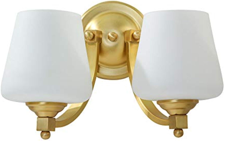 E27 stilvoll und elegant Wandleuchte Modern Nordic Stil Wandleuchten Kupfer Glas Jugendstil Wandlampe Kreative innen Wandbeleuchtung Art Deco Wandlampen Klassisch Wandeinbauleuchte 220v-240v,B