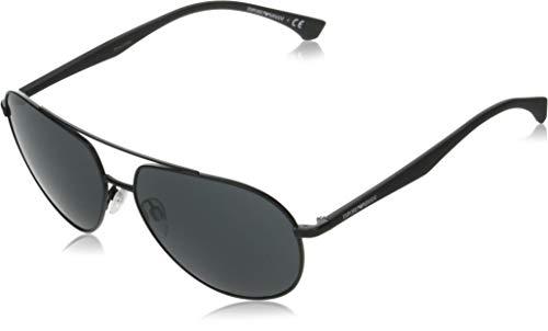 Emporio Armani Gafas de Sol EA 2096 Matte Black/Grey 60/14/140 hombre