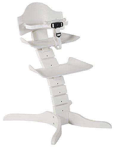 Treppy 2601 Stuhl in Form einer Wirbelsäule, Spinny weiß