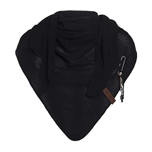 Knit Factory XXL driehoekige sjaal driehoekig sjaal sjaal omhangdoek model Lola 190 cm x 85 cm