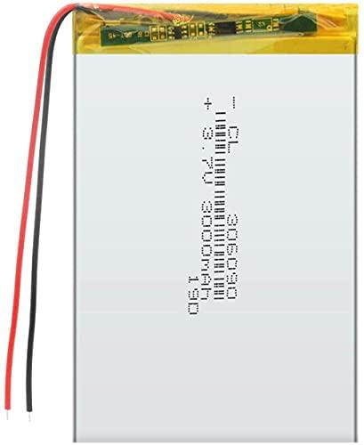 3.7V 3000Mah Li-Ion Lipo Batería 306090 Batería De Repuesto Recargable Universal para 7 Pulgadas Tablet Pc Mp4 GPS Psp-1Pc