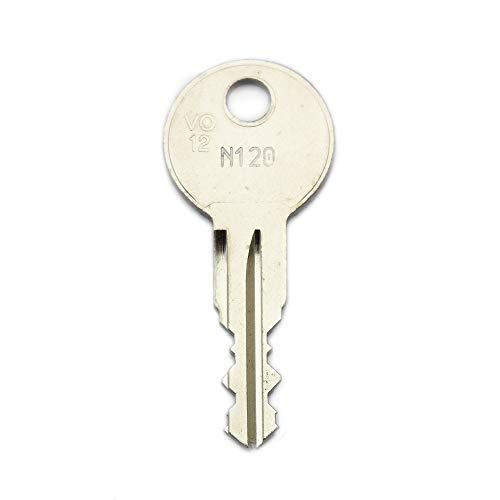 Thule Ersatzschlüssel N - Schließung N001 bis N200 - Nachschlüssel - Zusatzschlüssel - für Thule Dachboxen - nachträglicher Schlüssel für Thule Dachboxen
