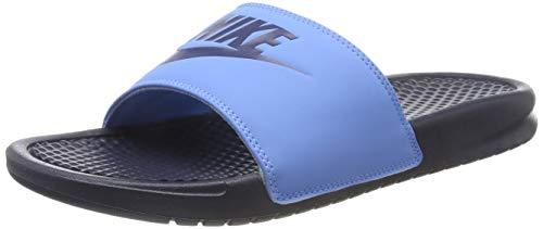 Nike Benassi JDI, Zapatos de Playa y Piscina Hombre, Negro (Blackened Blue/Blackened Blue/Univ Blue 409), 40 EU