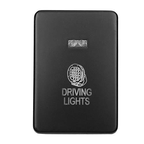 Relé de interruptor automotriz 12V Coche Light Push Button FOG Driving Spot Can LED LED LED Interruptor de barra limpia para Mitsubishi Mirage la Outlander ZK Pajero Sport QE (Color : Driving Light)