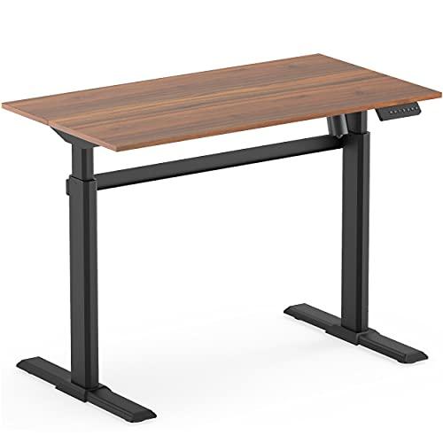 Fenge Höhenverstellbarer Schreibtisch Elektrisch 110 * 60cm Elektrische Schreibtische 4...