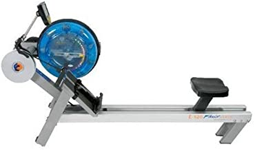 First Degree Fitness Fluid Rower with Heart Rate Reception, E520 - Silver Bronze - Evolution Series