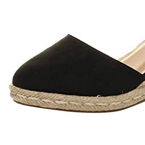Sandalias Mujer Cuna Verano 2019 Moda Tallas Grandes Plataforma Punta Cerradas Bohemias Zapatos De Tacon Alto Moda Calzado Y Complementos Low Cost