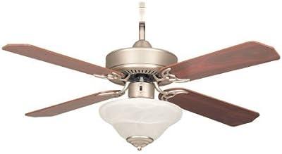 Brookhurst 52 In Indoor White Ceiling Fan Amazon Com
