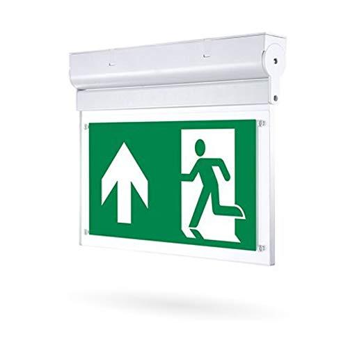 LED Fluchtwegleuchte, LED Notbeleuchtung mit Notstromakku 3h, 2W LED Notleuchten, LED Rettungswegleuchte, LED Fluchtlicht in verschiedenen Ausführungen (Aufbau, klappbar)