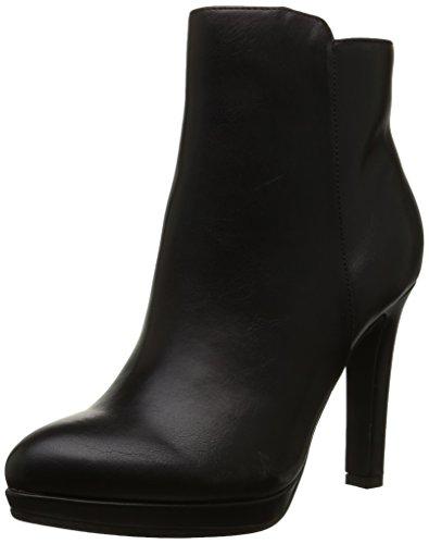 Buffalo Shoes Damen Y436-51B Kurzschaft Stiefel, Schwarz (Black 01), 41 EU