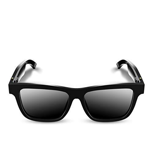 E10 Smart Audio Gafas de sol Auriculares inalámbricos Bluetooth 5.0 Gafas protectoras UV Gafas de audio Música Auriculares Manos libres con micrófono para hombres Montar, conducir, pescar, correr,
