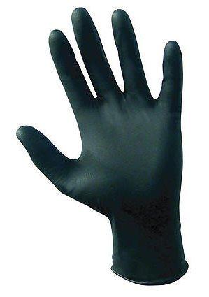 SAS Safety 66520 Raven Powder-Free Nitrile Disposable Glove, 2X-Large