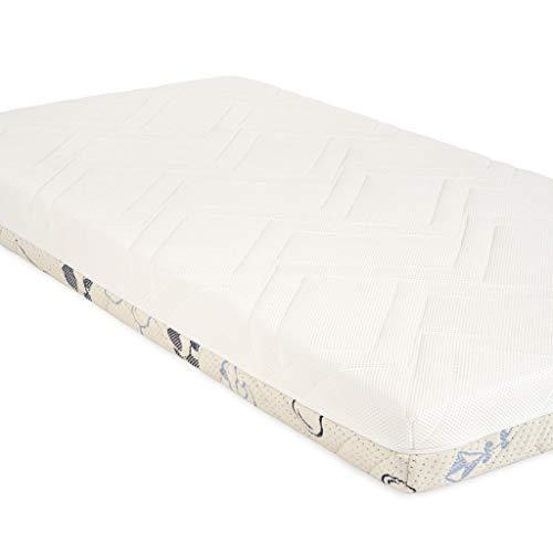 Sweety Fox - Babymatratze 70x140 - Made in Europa - Babybett und Kinderbett - Wendbar mit Sommer und Winterseite - Matratzenhöhe 11cm und Dichte von 25kg/m3