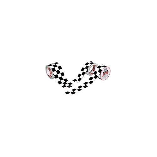 ISC Checkerboard Cinta Tablero Damas Blanco Negro: