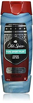 Old Spice Hydro Wash Body Wash Hardest Working Collection Pure Sport Plus 16 Oz 0.9 Pound