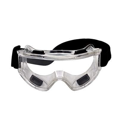 ウイルスバクテリアスプラッシュ防止メガネ保護メガネ軽量透明オーバーグラス保護アイゴーグル防曇防曇花粉症スプラッシュカット耐衝撃性密閉型ゴーグル
