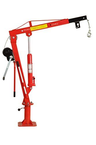 Pro-Lift-Montagetechnik Pick Up Kran, 450 kg mit Seilwinde, J45HW, 00624
