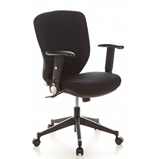 HJH Office TRAFFIC 20 Silla de oficina Negro 48.0×58.0x103.0 cm
