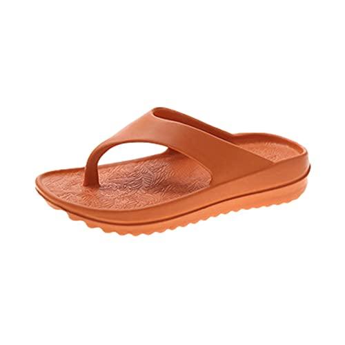 Augneveres Chanclas para Mujer Y Hombre Cómoda Esterilla De Yoga Chanclas Soporte De Arco Sandalias De Dedo Antideslizantes De Verano Elegantly