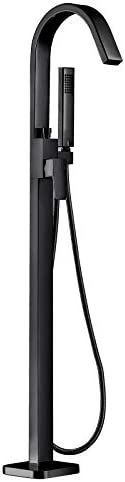 couleur s/électionnable Robinet mitigeur de luxe sur pied NT3311 avec corps dencastrement Couleur:Noir