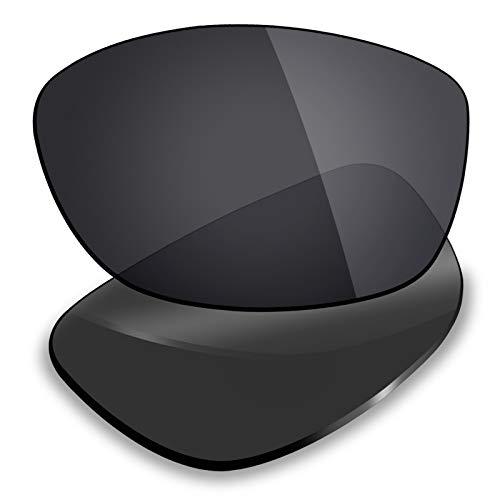 Mryok Lentes de repuesto para Arnette Hot Shot AN4182 - Opciones, Polarizado, negro sigiloso., Talla única