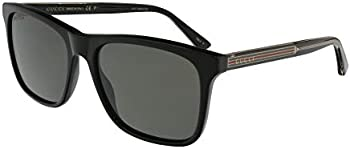 Gucci Polarized Rectangular Men's Sunglasses