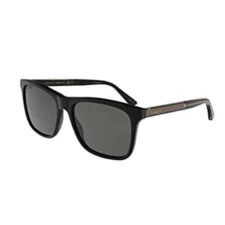 Fashion Shopping Gucci GG0381S Club Master Men's Sunglasses, 57mm