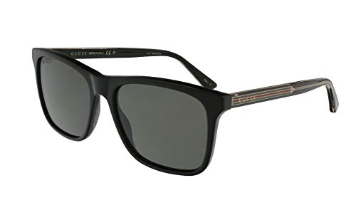 Sunglasses Gucci GG 0381 S- 007 BLACK/GREY