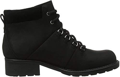 Clarks Orinoco Demi, Women's Biker Boots, Black (Black Leather Black Leather), 7.5 UK (41.5 EU)
