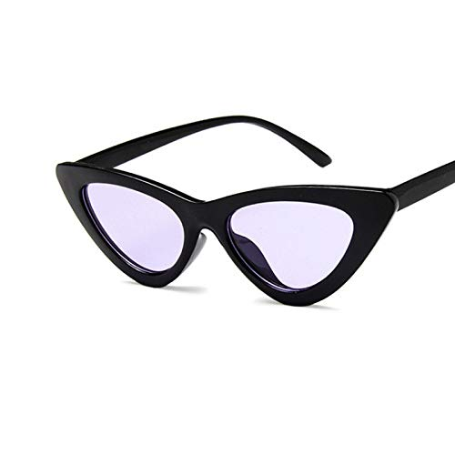 Sunglasses Gafas de Sol de Moda Gafas De Sol Triangulares con Forma De Ojo De Gato para Mujer, Gafas Retro Vintage Sexis